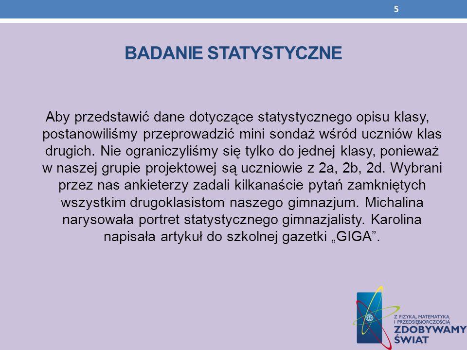 Kandydaci Kod kandydataJL3/95MK2/55MD6/18 Język polski354 Język obcy364 Historia264 Matematyka633 Fizyka523 Chemia434 36