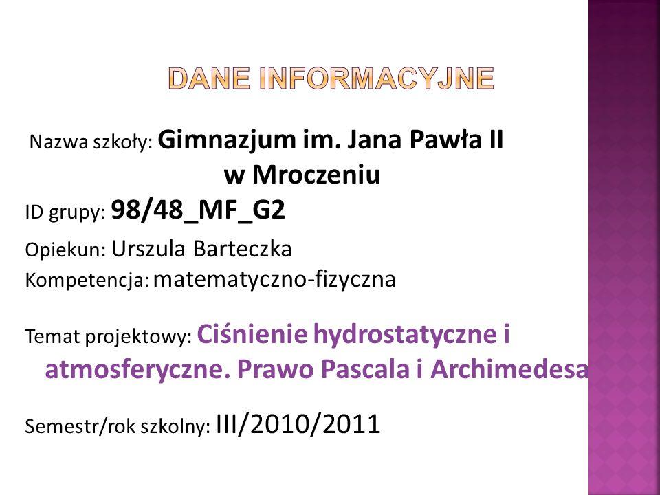 Ciśnienie atmosferyczne w Polsce.