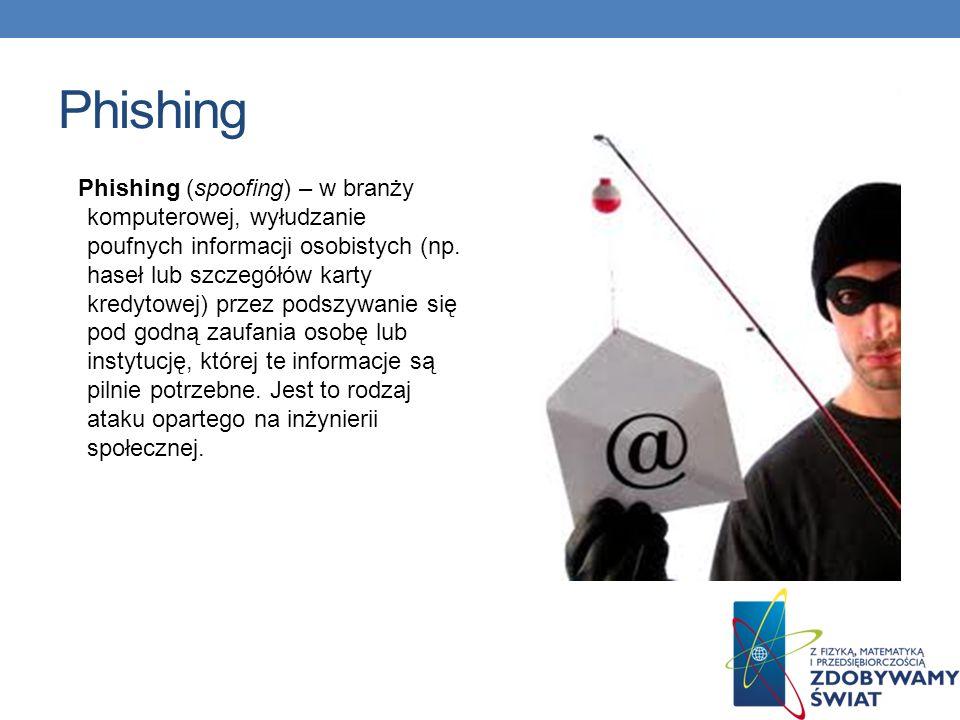 Przykład phishingu Kaspersky Lab Polska informuje o wykryciu nowego ataku phishingowego na klientów banku BZ WBK.