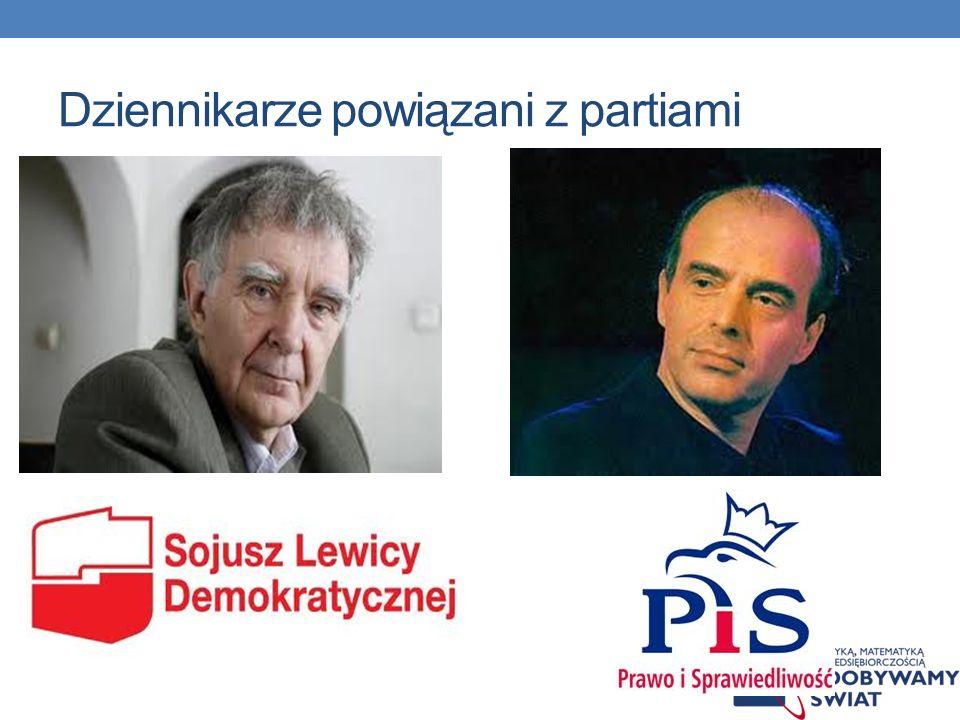 Powiązania członków KRR i TV z partiami politycznymi