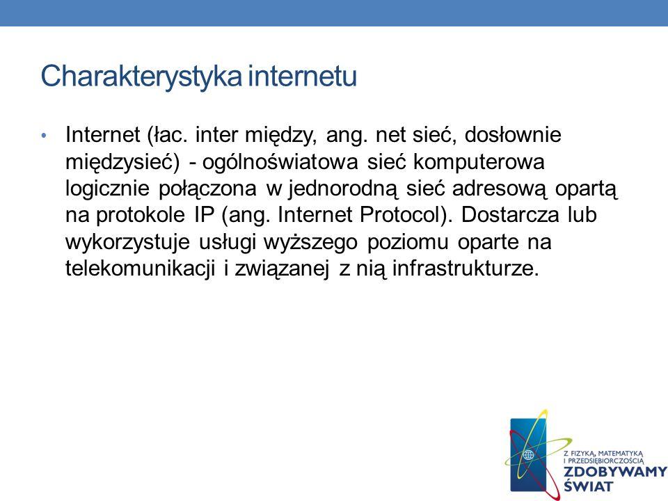 Przykłady stron internetowych Wirtualna Polska (WP) – pierwszy polski portal internetowy, wchodzi w skład Grupy TP, siedziba w Gdańsku.