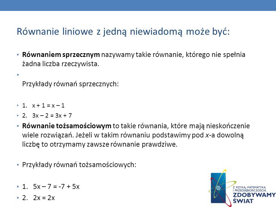 ŹRÓDŁA: 1.http:// www.math.edu.pl 2.Podręcznik do Gimnazjum do klasy 3, autorzy m.in.