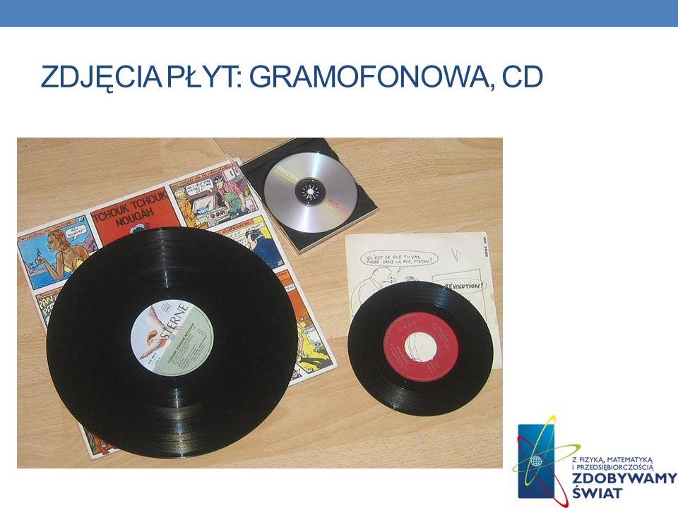 ZDJĘCIA PŁYT: GRAMOFONOWA, CD