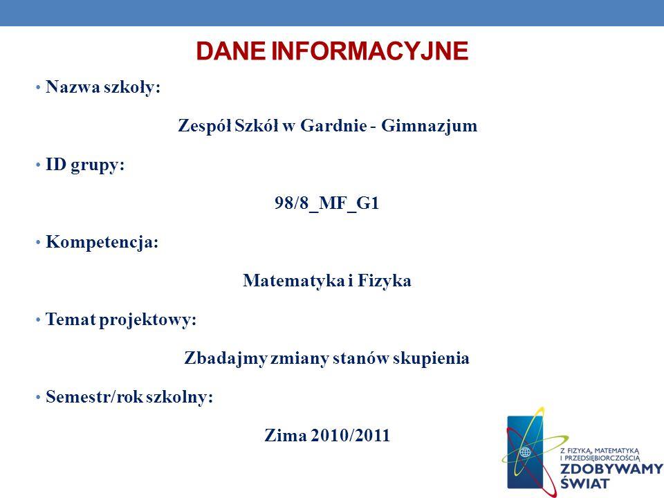 WRZENIE MIESZANINY WODY Z SYROPEM Temat doświadczenia: Temperatura wrzenia mieszaniny wody z syropem.