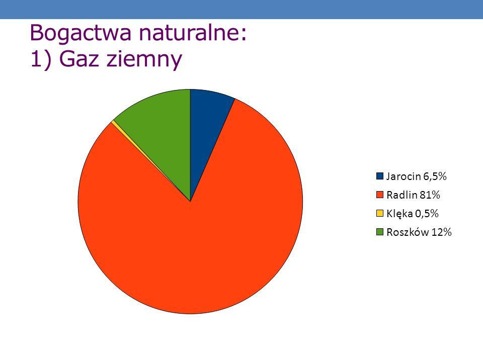Bogactwa naturalne: 1) Gaz ziemny