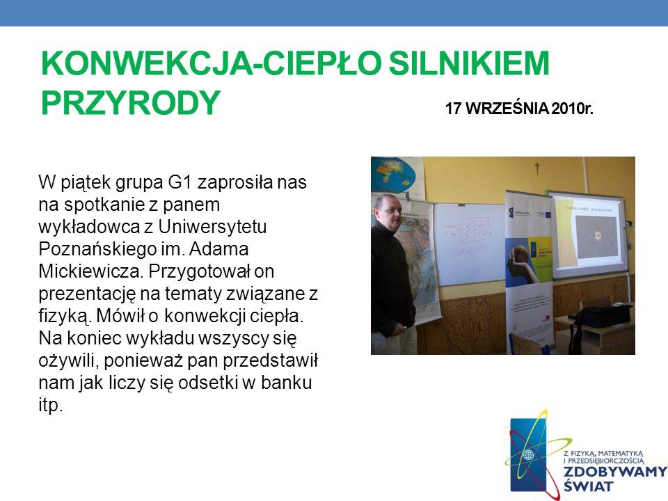 WSPÓLNY TEMAT … 14 WRZEŚNIA 2010r. Na tym spotkaniu dowiedzieliśmy się o współpracy z grupą z Miejskiego Gimnazjum im. St. Dulewicza w Darłowie (98/57