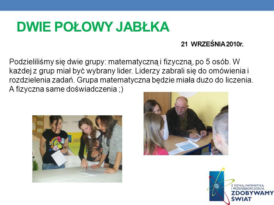 KONWEKCJA-CIEPŁO SILNIKIEM PRZYRODY 17 WRZEŚNIA 2010r. W piątek grupa G1 zaprosiła nas na spotkanie z panem wykładowca z Uniwersytetu Poznańskiego im.