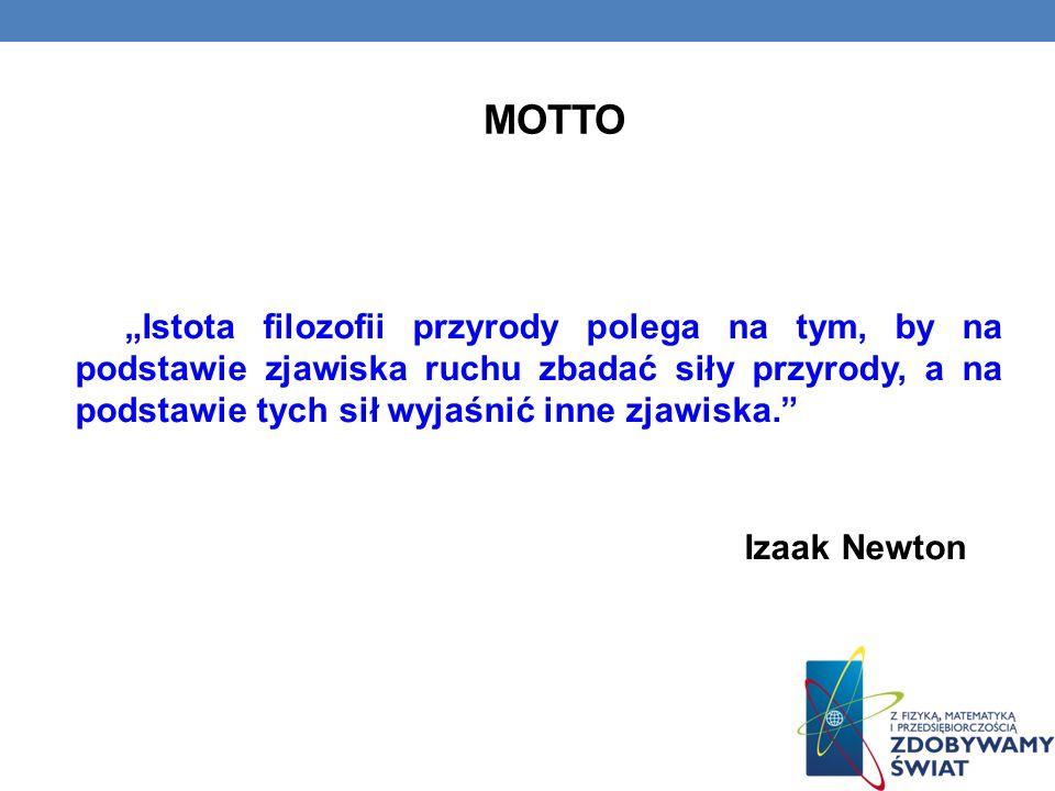 BEZPŁATNE ZASOBY INTERNETOWE (Linki do stron internetowych) http://pl.wikipedia.org/wiki/Ruch_(fizyka) http://fizyka.org/?teoria,3,2 http://www.fizyka24.eu/ruch-i-opis-ruchu/ http://pl.wikibooks.org/wiki/Fizyka_dla_liceum/Ruch http://www.physicsclassroom.com/Class/1DKin/