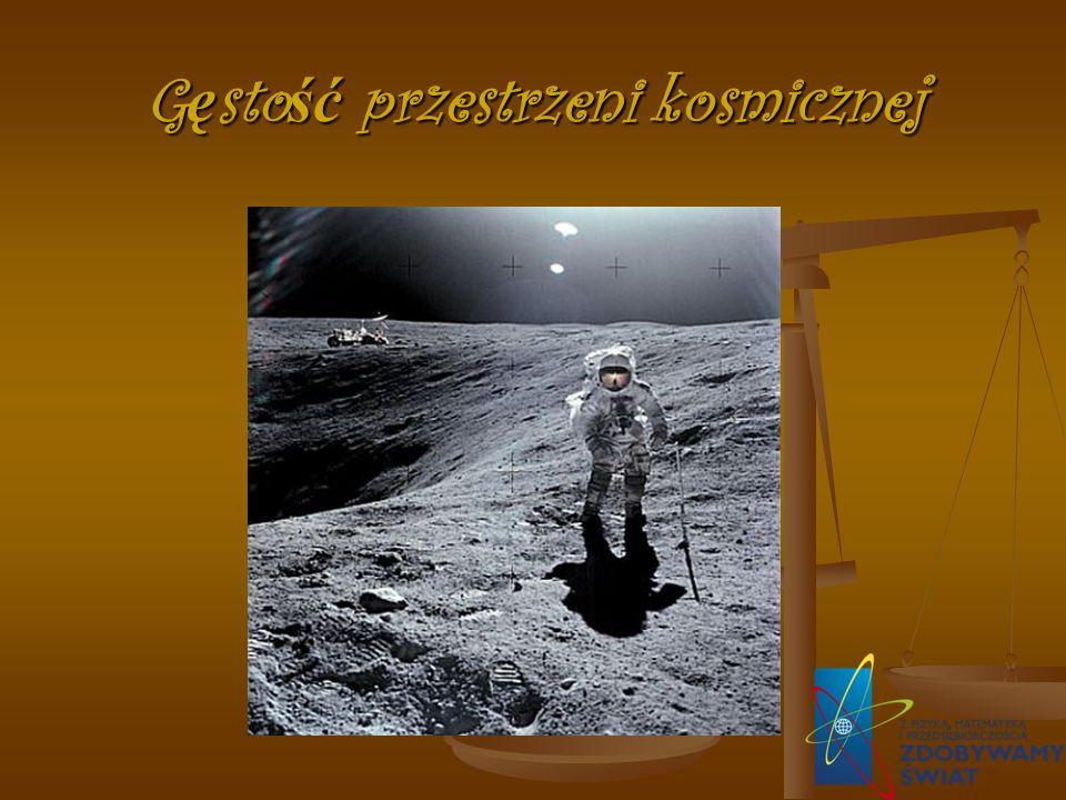 G ę sto ść przestrzeni kosmicznej