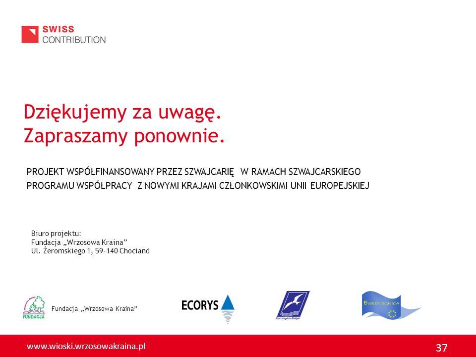www.wioski.wrzosowakraina.pl 37 Fundacja Wrzosowa Kraina Dziękujemy za uwagę.