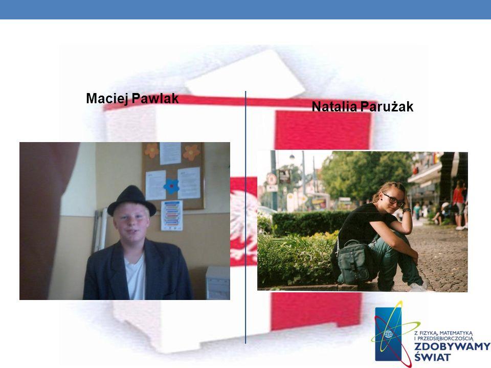 Natalia Parużak Maciej Pawlak