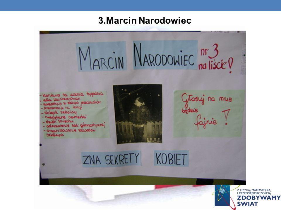 3.Marcin Narodowiec