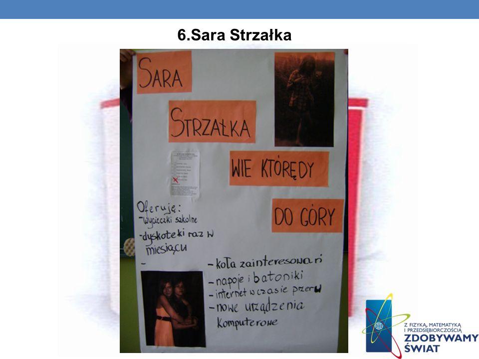 6.Sara Strzałka