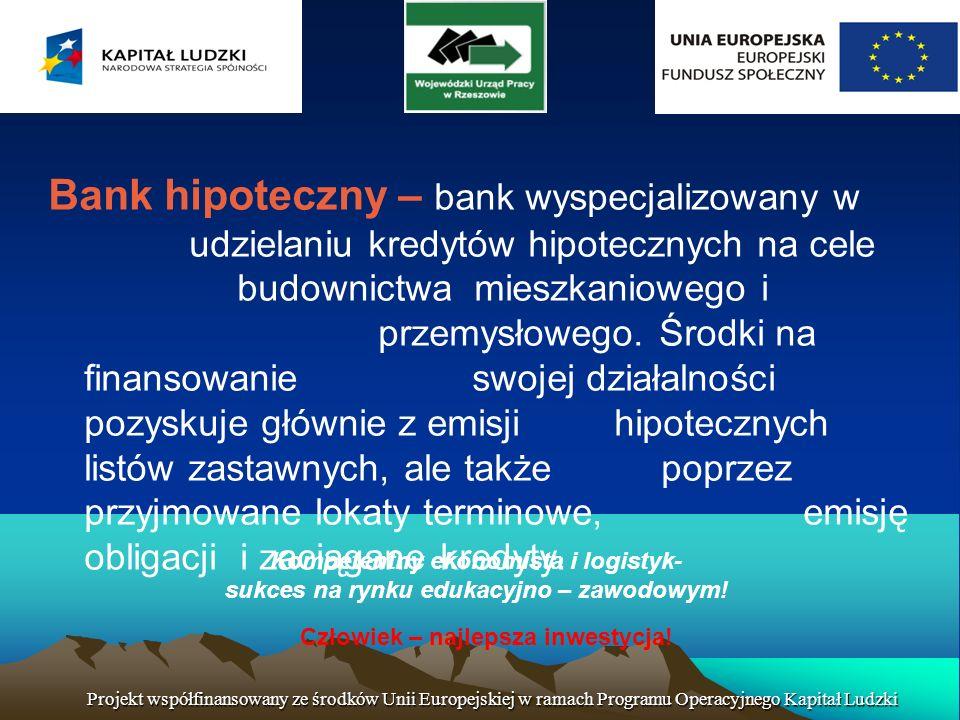 Kompetentny ekonomista i logistyk- sukces na rynku edukacyjno – zawodowym.