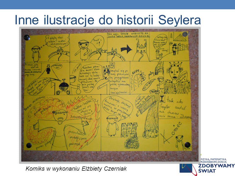 Inne ilustracje do historii Seylera Komiks w wykonaniu Elżbiety Czerniak