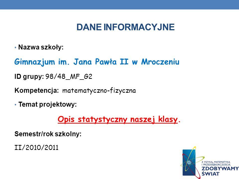 Bibliografia www.iwiedza.net/encyklo/gleter.html www.wikipedia.pl www.zadania.info/d273/1 www.math.edu.pl/zadania,procenty,0 www.megamatma.com www.statystyka.tangens.pl materiały własne np.