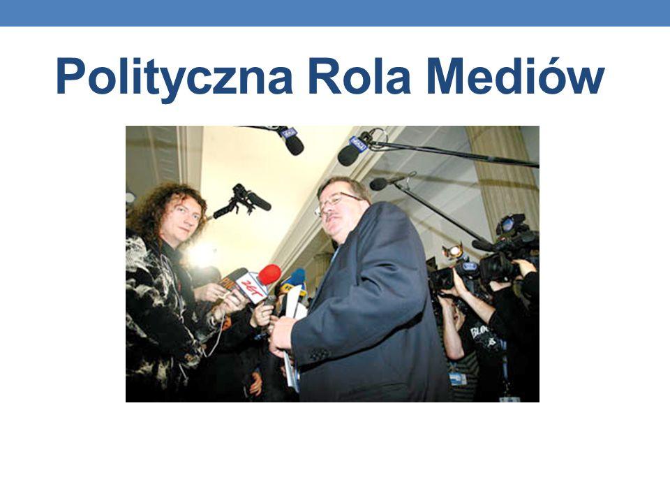 Polityczna Rola Mediów