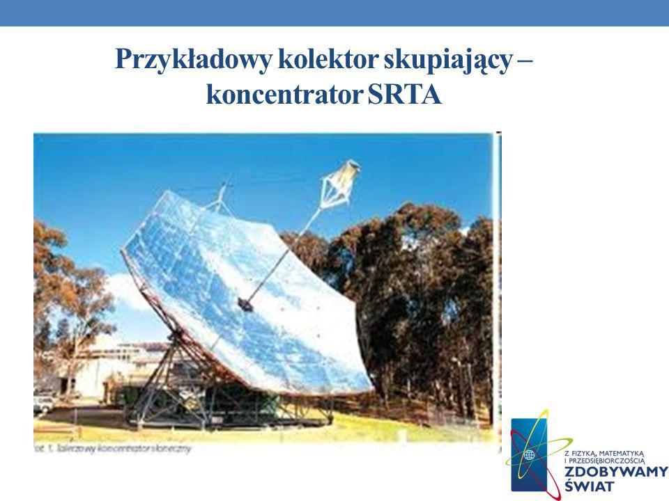 Przykładowy kolektor skupiający – koncentrator SRTA