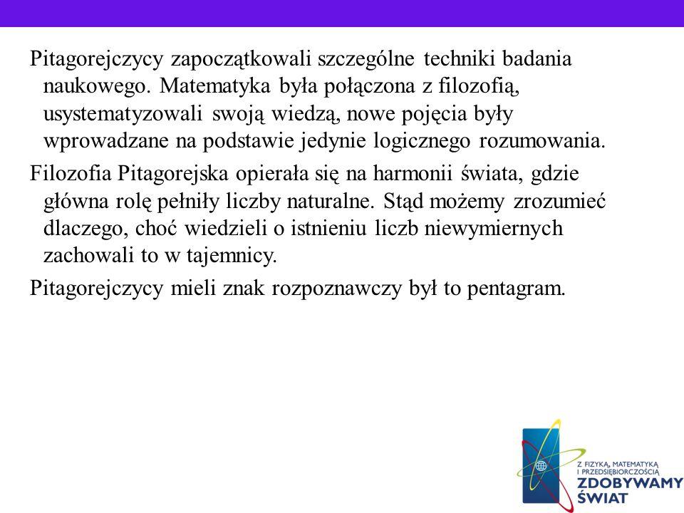 Pitagoras lubił podróżować. W Fenicji i Babilonie zapoznał się z dokonaniami tamtejszych matematyków oraz przyniósł osiągnięcia matematyczne z Egiptu