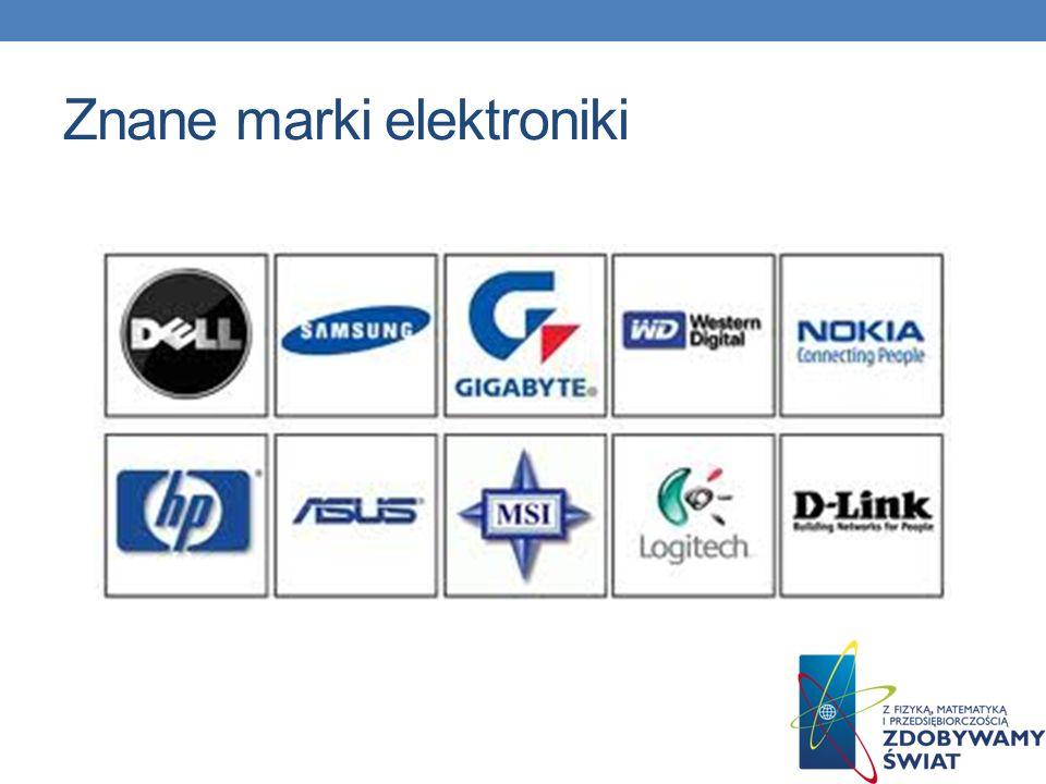 Znane marki elektroniki
