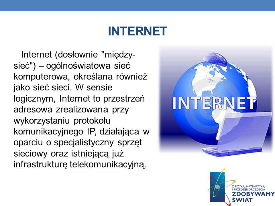 Internet (dosłownie