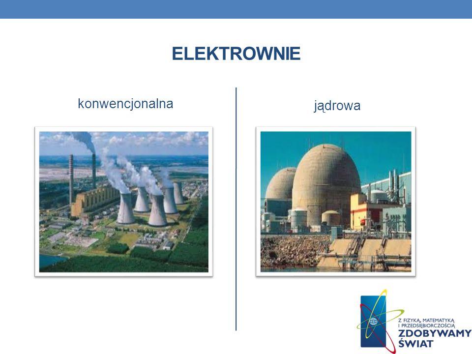ELEKTROWNIE konwencjonalna jądrowa