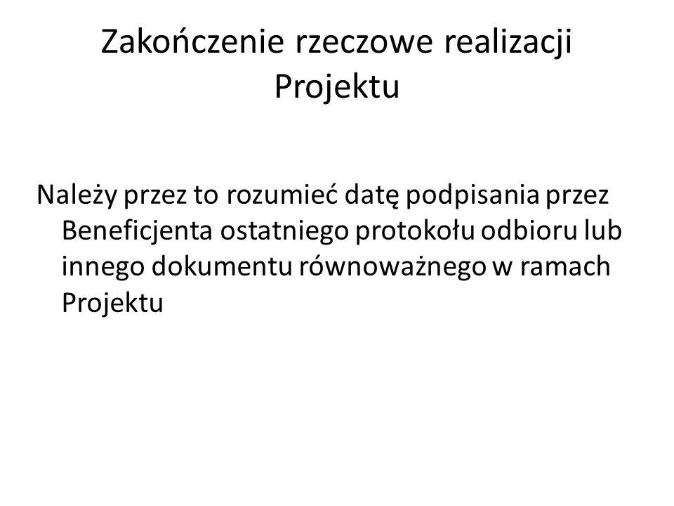 15 REALIZACJA PROJEKTU Projekt ma być realizowany zgodnie z harmonogramem zawartym we wniosku o dofinansowanie (w części D.). Aktualizacja harmonogram
