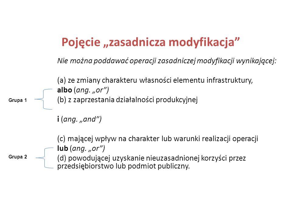 Pojęcie zachowanie trwałości projektu Pojęcie nie jest regulowane prawem polskim tylko przepisami rozporządzenia Rady (WE) nr 1083/2006 w art. 57 Trwa