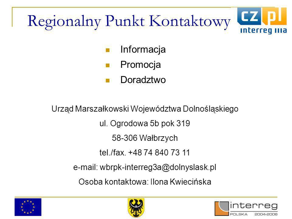 Regionalny Punkt Kontaktowy Urząd Marszałkowski Województwa Dolnośląskiego ul.