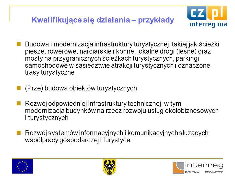 Priorytet 2 Priorytet ma na celu wspieranie : promocji wspólnych działań o charakterze społeczno-ekonomicznym na obszarze czesko-polskiego pogranicza rozwoju struktur i sieci organizacyjnych o charakterze transgranicznym