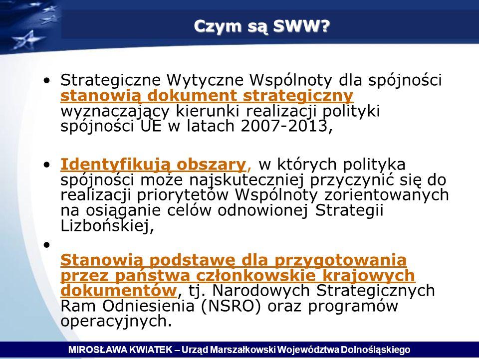 Czym są SWW.