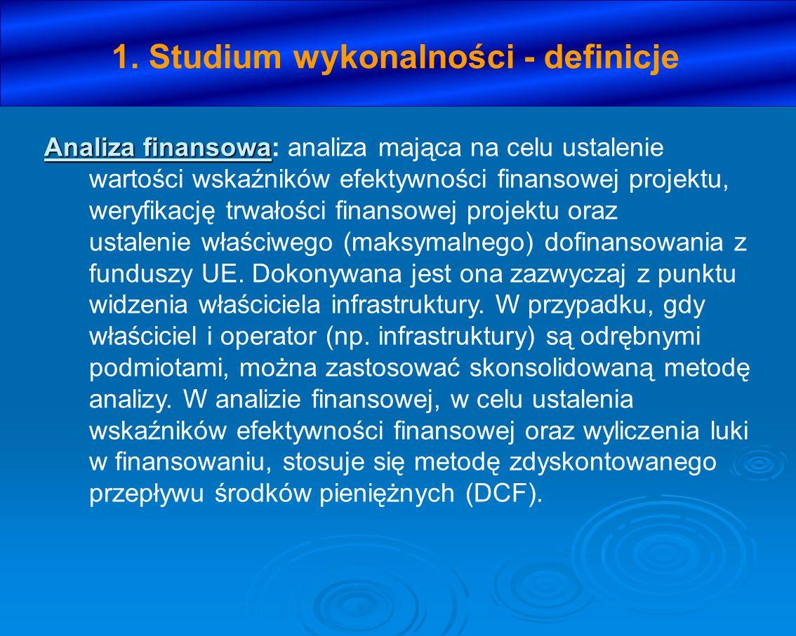 VII.ANALIZA TECHNICZNA 1. Opis istniejącego systemu/przedsięwzięcia (stan istniejący), 2.