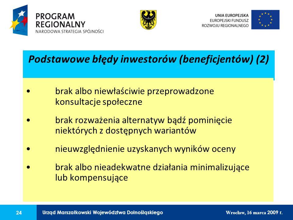 24 Urząd Marszałkowski Województwa Dolnośląskiego Wrocław, 16 marca 2009 r. 24 Urząd Marszałkowski Województwa Dolnośląskiego Wrocław, 16 marca 2009 r