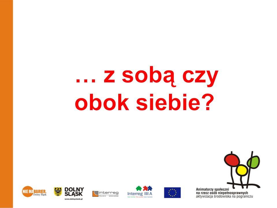Dla niepełnosprawnych W Ząbkowicach działa Stowarzyszenie na Rzecz Dzieci i Osób Niepełnosprawnych Ziemi Ząbkowickiej Integracja www.zs-integracja.org www.zs-integracja.org Na terenie miasta jest tylko 1 zakład pracy dla niepełnosprawnych tj.