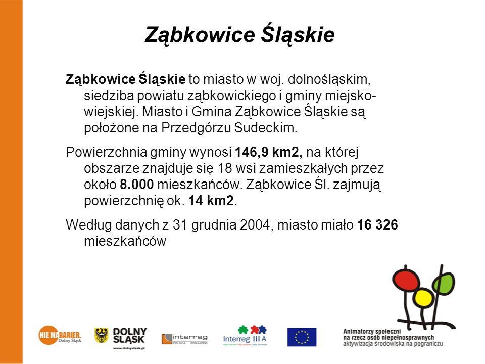 Ząbkowice Śląskie Ząbkowice Śląskie to miasto w woj. dolnośląskim, siedziba powiatu ząbkowickiego i gminy miejsko- wiejskiej. Miasto i Gmina Ząbkowice