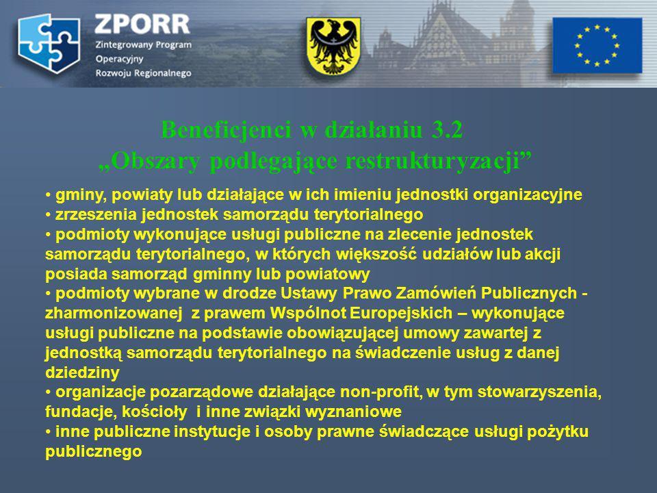 gminy, powiaty lub działające w ich imieniu jednostki organizacyjne zrzeszenia jednostek samorządu terytorialnego podmioty wykonujące usługi publiczne