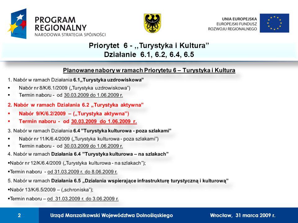 Urząd Marszałkowski Województwa Dolnośląskiego27 lutego 2008 r.2 01 Urząd Marszałkowski Województwa Dolnośląskiego2Wrocław, 31 marca 2009 r.