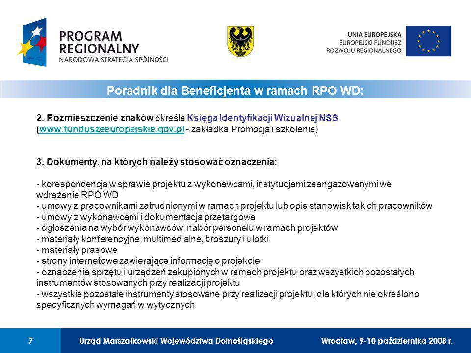 Urząd Marszałkowski Województwa Dolnośląskiego7 01 Urząd Marszałkowski Województwa Dolnośląskiego7 Wrocław, 12 czerwca 2008 r.