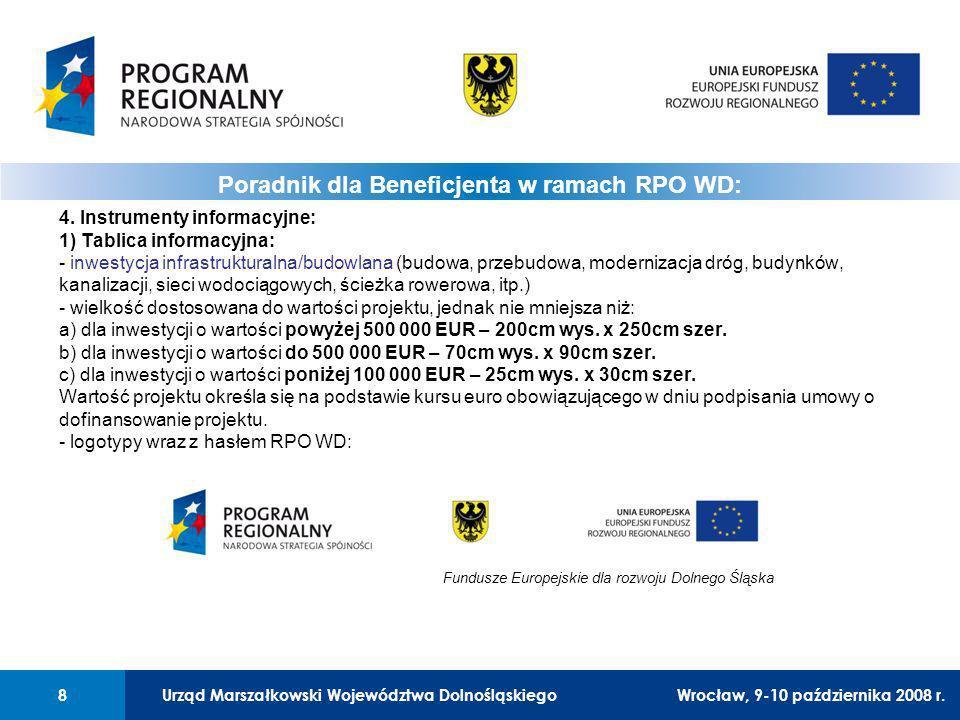 Urząd Marszałkowski Województwa Dolnośląskiego8 01 Urząd Marszałkowski Województwa Dolnośląskiego8 4.