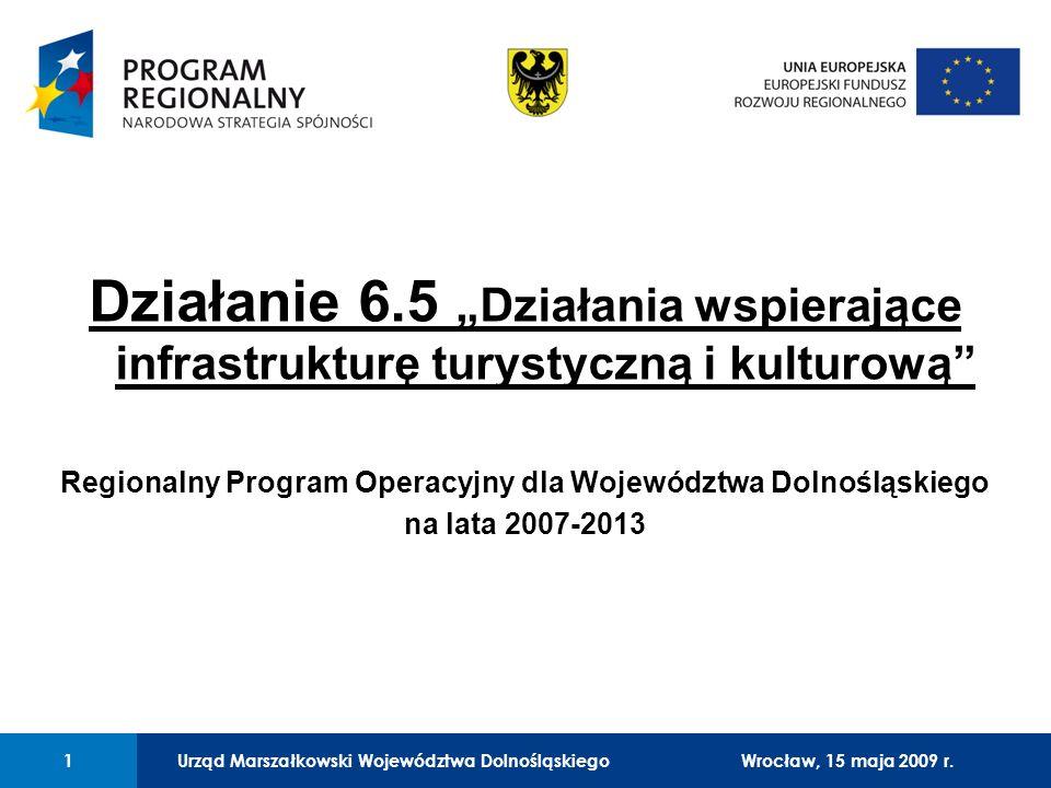 Urząd Marszałkowski Województwa Dolnośląskiego27 lutego 2008 r.1 01 Urząd Marszałkowski Województwa Dolnośląskiego1Wrocław, 15 maja 2009 r. Działanie