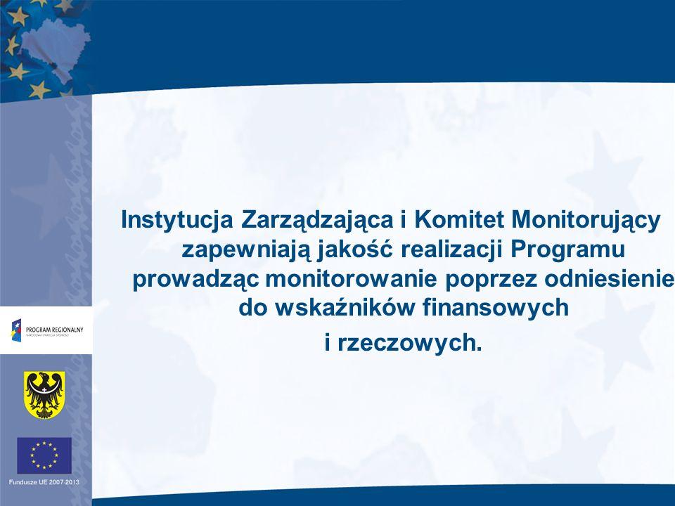 Sprawozdanie roczne z realizacji Programu 2.7.Uzgodnienia dotyczące systemu monitorowania 2.8.