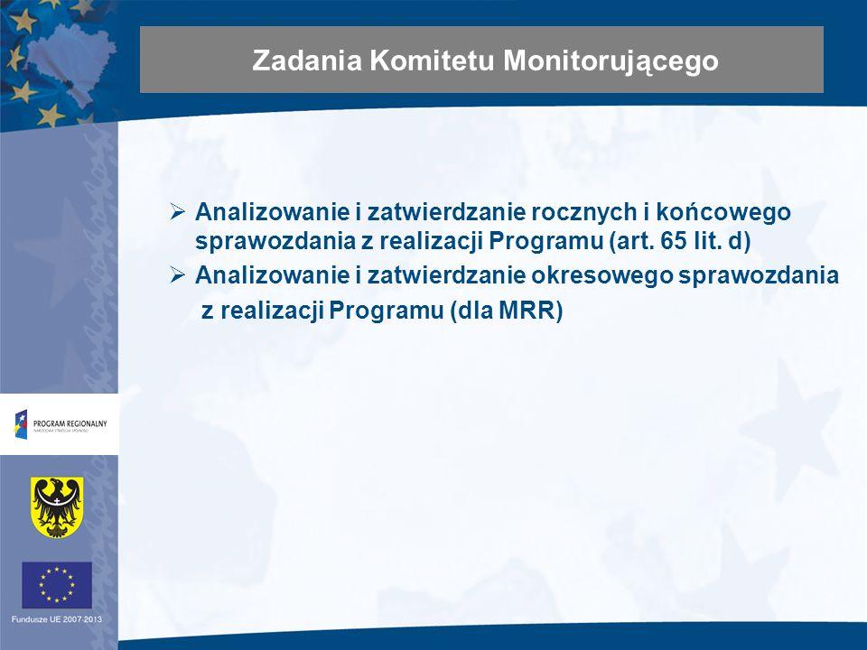 Sprawozdanie okresowe z realizacji Programu 3.2.