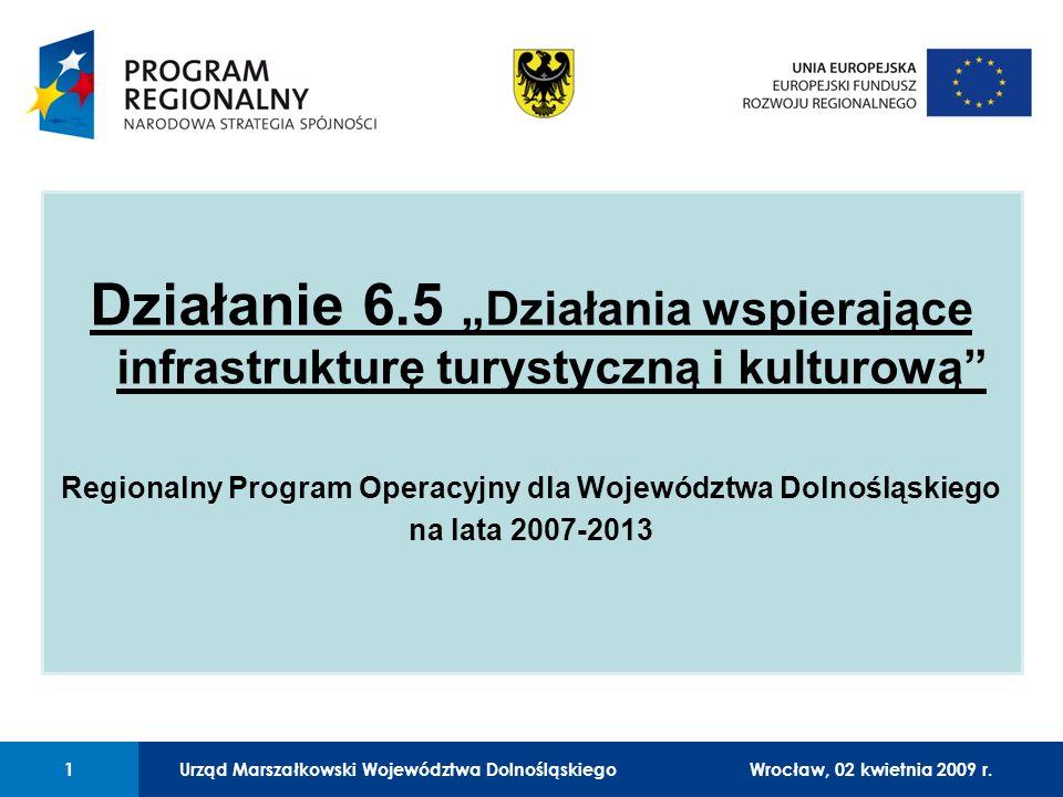 Urząd Marszałkowski Województwa Dolnośląskiego27 lutego 2008 r.1 01 Urząd Marszałkowski Województwa Dolnośląskiego1Wrocław, 02 kwietnia 2009 r.