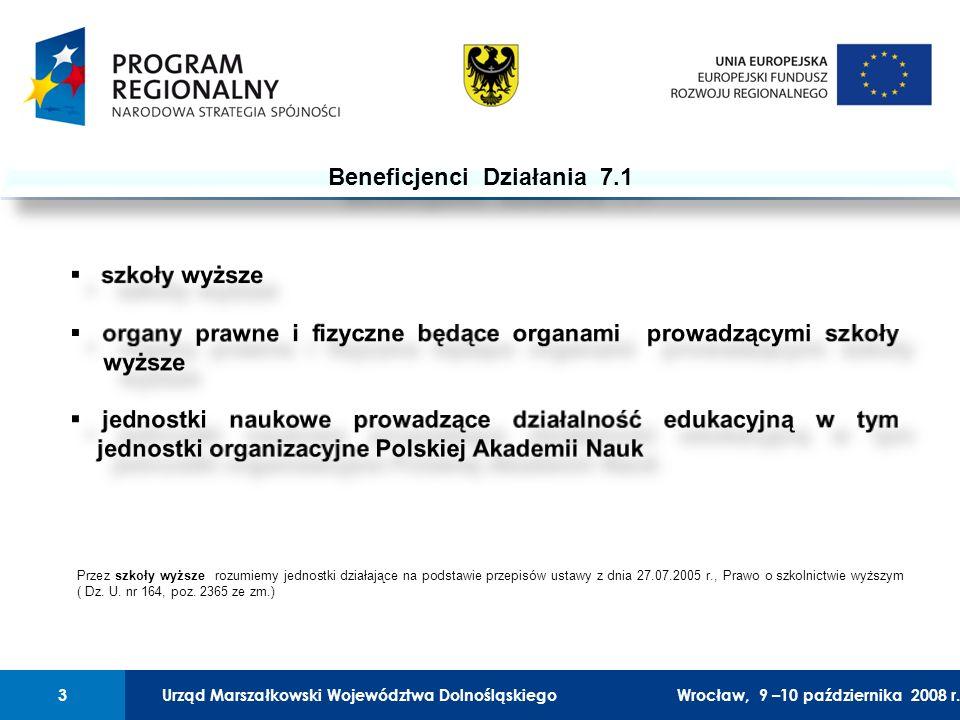 Urząd Marszałkowski Województwa Dolnośląskiego27 lutego 2008 r.3 01 Urząd Marszałkowski Województwa Dolnośląskiego3Wrocław, 9 –10 października 2008 r.