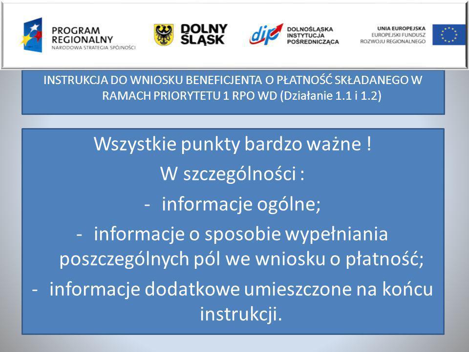 Przykłady opisu faktur w EURO Wydatek związany z realizacją Projektu Zakup innowacyjnych maszyn i urządzeń nr RPDS.01.01.00-02-500/08 w ramach Regionalnego Programu Operacyjnego Województwa Dolnośląskiego na lata 2007-2013 Działanie 1.1 Schemat 1.1.A2.