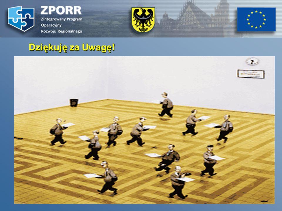 28 Punkt Informacyjno – Kontaktowy ds. ZPORR zporr@umwd.pl zporr@dolnyslask.pl tel.