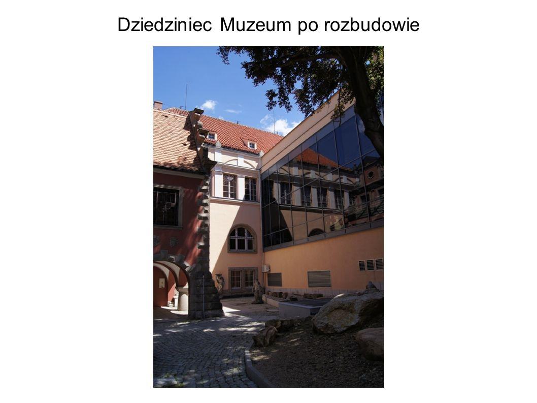 Dziedziniec Muzeum po rozbudowie