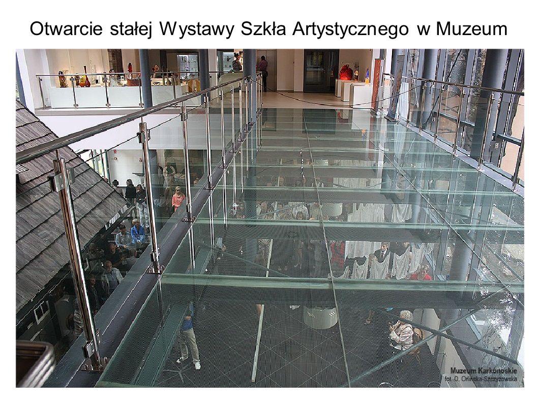 Otwarcie stałej Wystawy Szkła Artystycznego w Muzeum