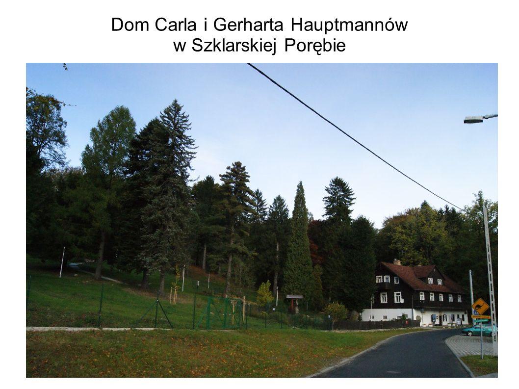 Dom Carla i Gerharta Hauptmannów w Szklarskiej Porębie