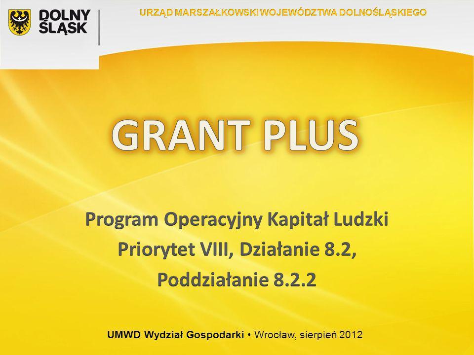 UMWD Wydział Gospodarki Wrocław, sierpień 2012